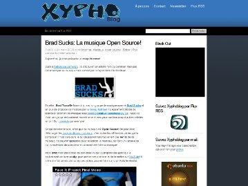 Xyphoblog